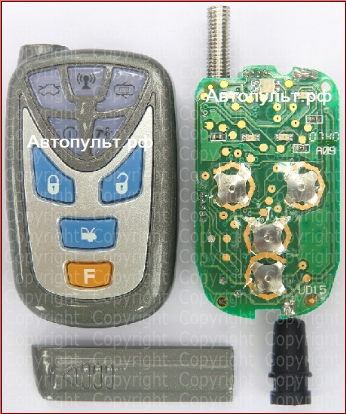 Pantera SLK-10i - Брелки